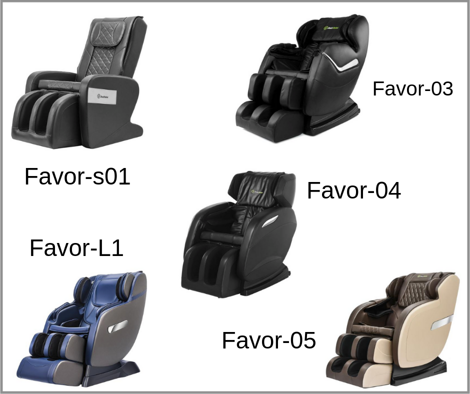 real relax massage chair different favors
