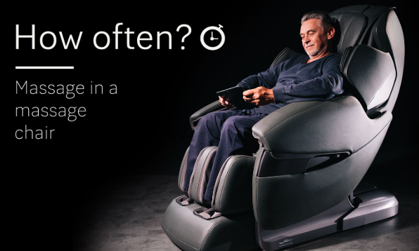 how often can you use a massage chair