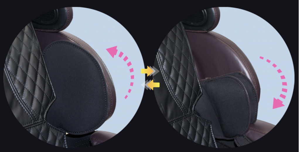 shoulder air bags display