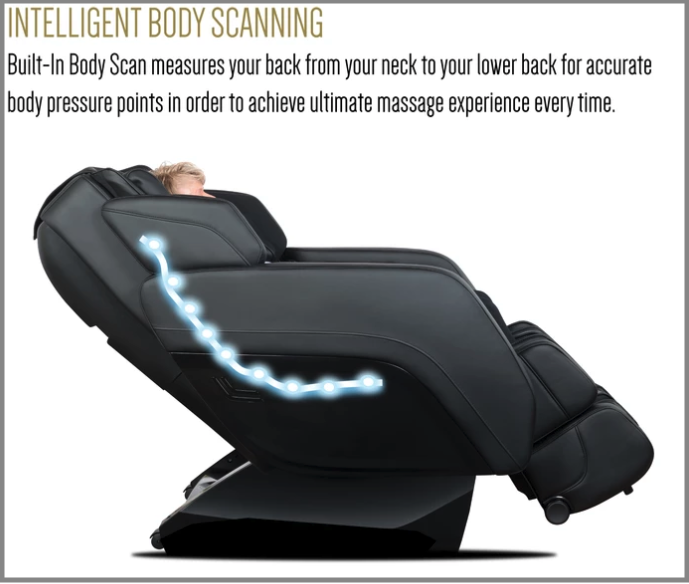 relaxonchair massage chair body scanning