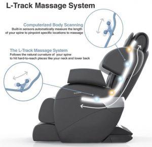Relaxonchair MK-II Plus l track massage system