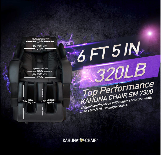 Kahuna Superior massage chair sm 7300