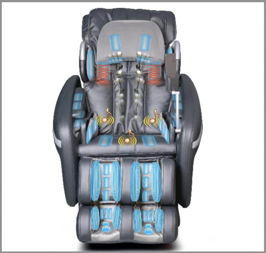 air bags in Osaki OS-7200H massage chair