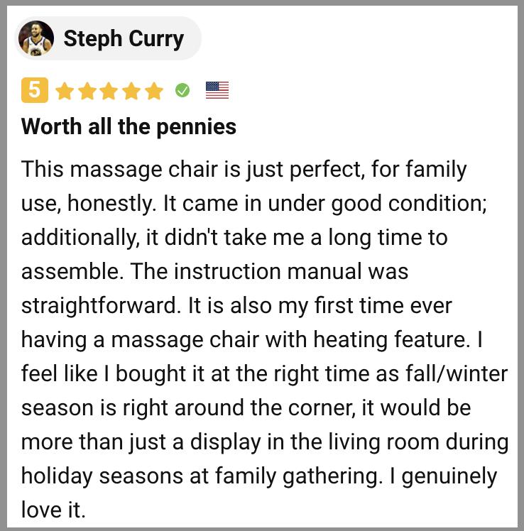 Ootori Nova N900 Massage Chair Review