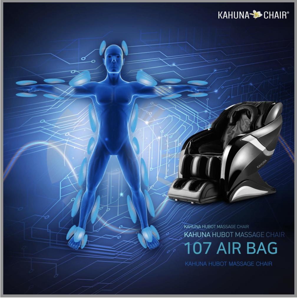 Kahuna Hubot massage chair air bags