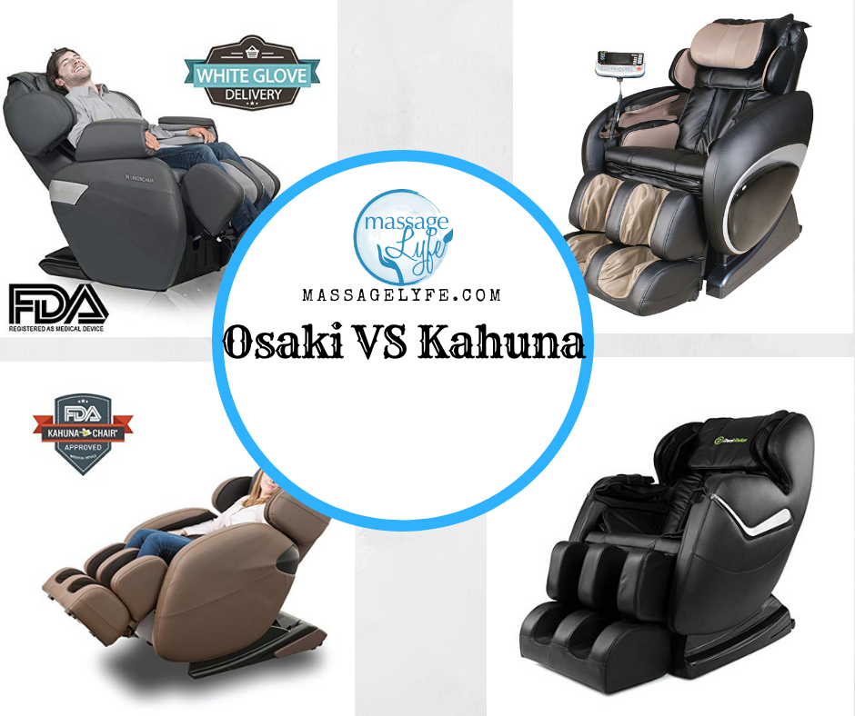 Kahuna vs Osaki Massage Chairs