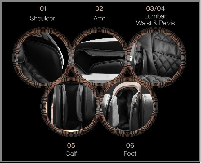Osaki OS-Pro Maestro 4D Zero Gravity Massage Chair