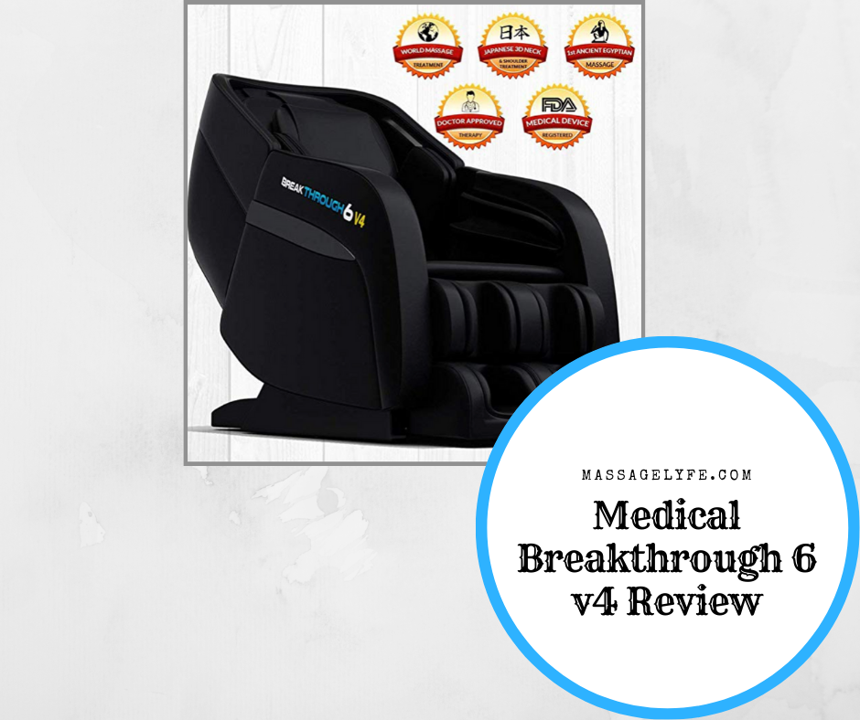 medical breakthrough 6 v4 massage chair