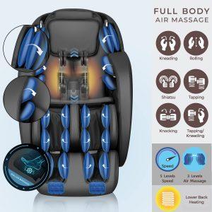 irest sl track massage chair air massage diagram