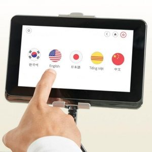 jpmedics kumo touch screen controls